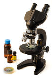 Microscope for analysis Royalty Free Stock Image