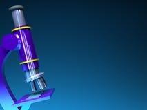 Microscope background Stock Image