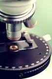 Microscope close-up Stock Image