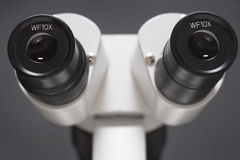 Microscope close-up Royalty Free Stock Photography