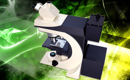 Microscope vector illustration