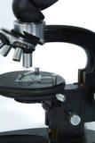 Microscope for examinations Royalty Free Stock Photography