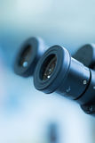 Microscope Eyepiece Stock Photography