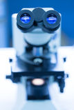 Microscope Eyepiece Stock Photography