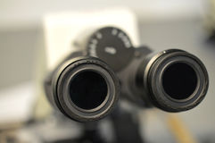 A Microscope Eyepiece Stock Photos