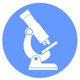 Microscope icon Royalty Free Stock Photo