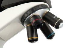 Microscope isolated Stock Photos