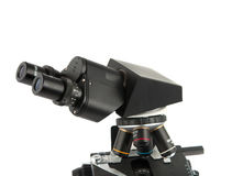 Microscope isolated Stock Images