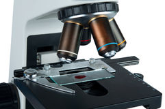 Microscope isolated Royalty Free Stock Photo
