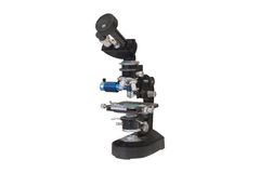 Microscope isolated Royalty Free Stock Image