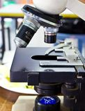 Microscope Lenses Stock Image