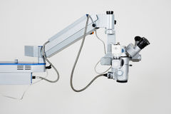 Microscope for medical researches Stock Photos