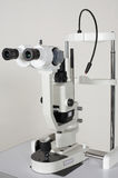 Microscope for medical researches Royalty Free Stock Photography
