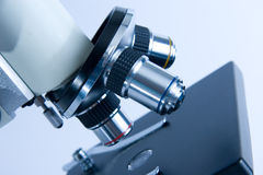 Microscope objectives Stock Image