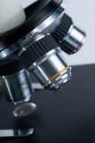 Microscope objectives Royalty Free Stock Photos