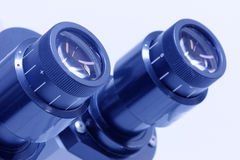 Microscope ocular Royalty Free Stock Photos
