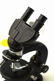 Microscope pour l'analyse Images libres de droits