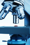 Microscope research Stock Image