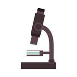 Microscope science tool stock illustration
