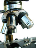 Microscope scientifique Photographie stock