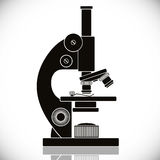 Microscope vector icon. Stock Photography