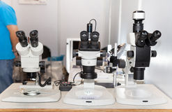 Microscopes Royalty Free Stock Image