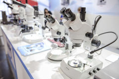Microscopes Royalty Free Stock Images