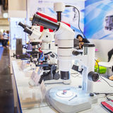 Microscopes Stock Image