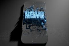 News Cloner Smartphone Stock Photo