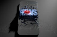 Fake News Cloner Smartphone Royalty Free Stock Image