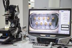 Microscopio óptico superficial de la aspereza 3D foto de archivo libre de regalías