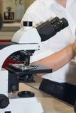 Microscopio Immagini Stock Libere da Diritti