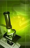 Microscopio Immagine Stock
