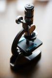 Microscopio fotografía de archivo libre de regalías