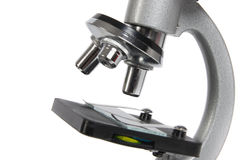 Microscopio Imagen de archivo libre de regalías