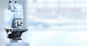 Microscopio fotografie stock libere da diritti