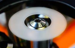 Microscopio di industriale di settore fotografia stock
