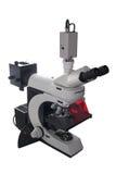Microscopio elettronico moderno Fotografia Stock