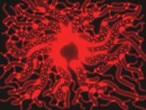 Microscopisch - 2 royalty-vrije illustratie