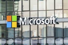 Microsoft στην Κολωνία, Γερμανία Στοκ εικόνες με δικαίωμα ελεύθερης χρήσης