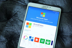 Microsoft apps Stock Photo