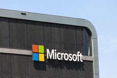 Microsoft Building  in Cologne, Germany Royalty Free Stock Photo
