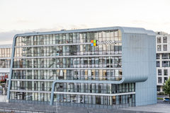 Microsoft Building in Cologne, Germany Royalty Free Stock Image