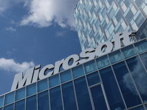 Microsoft Corporation-Embleem Royalty-vrije Stock Afbeelding