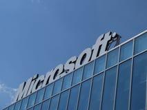 Microsoft Corporation-Embleem Stock Foto