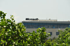 Microsoft corporation office building Royalty Free Stock Photography