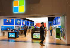 Microsoft Corporation Store Opens in Toronto Royalty Free Stock Image