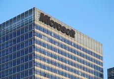 Microsoft-de Bouw Stock Foto