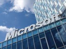 Microsoft-de bureaubouw royalty-vrije stock foto