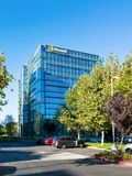 Microsoft die Sunnyvale, Californië inbouwen Royalty-vrije Stock Afbeeldingen
